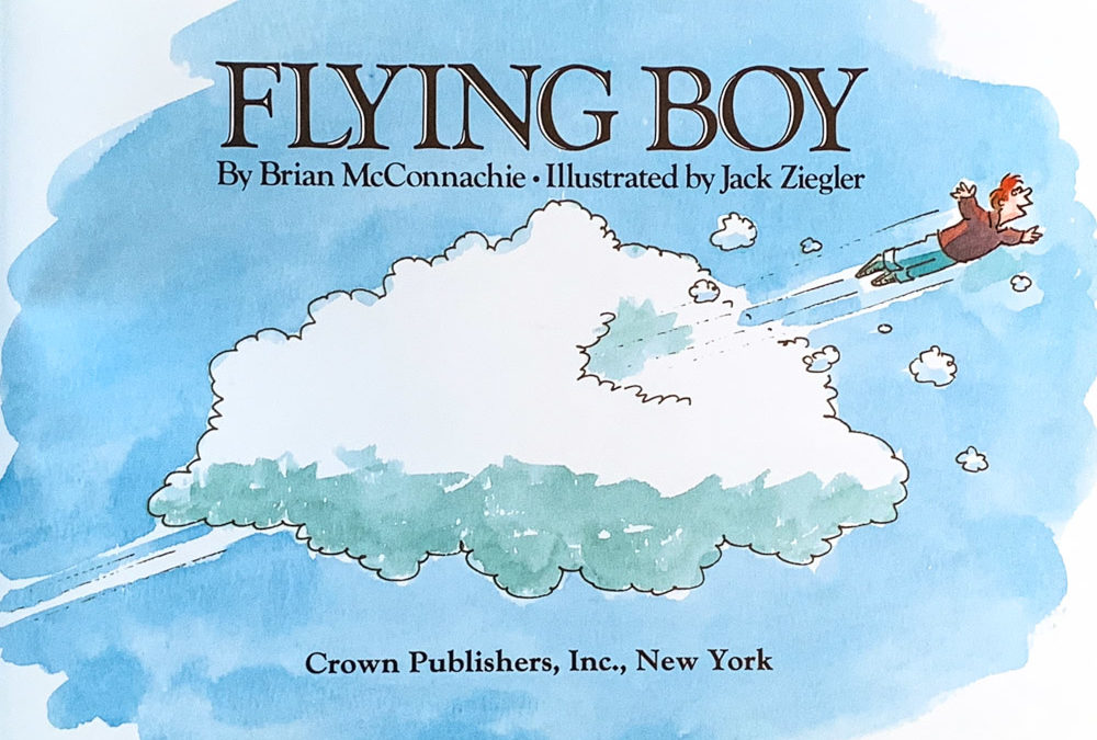 Cherished Children's Book: Flying Boy